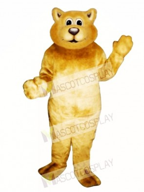 Cute Baby Bobcat Cat Mascot Costume