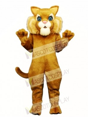 Cute Miss Boots Cat Mascot Costume