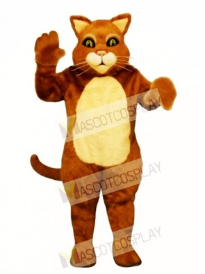 Cute James the Cat Mascot Costume