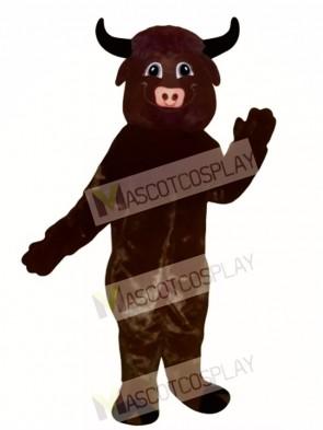 Happy Bull Mascot Costume