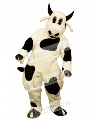 Cute Spotted Cow Mascot Costume