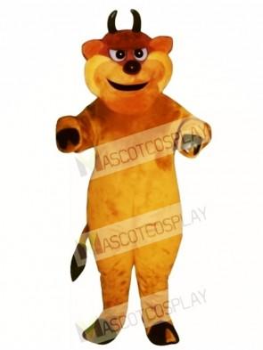 Tough Bull Mascot Costume
