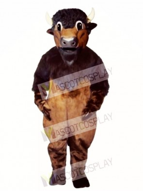 Buffy Buffalo Mascot Costume