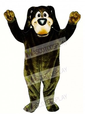 Cute Harold Hound Dog Mascot Costume