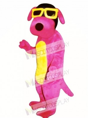 Cute Hot Dawg Dog Mascot Costume