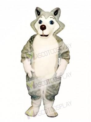 Cute Herman Husky Dog Mascot Costume