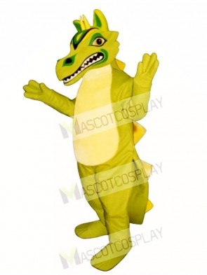 Green Oriental Dragon Mascot Costume