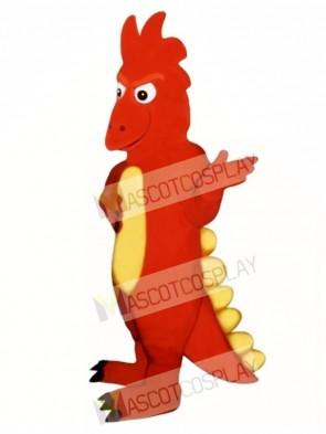 Firedrake Mascot Costume