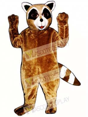 Ryan Raccoon Mascot Costume