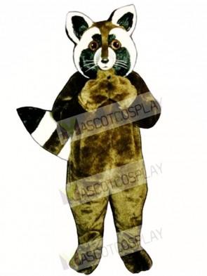 Corkie Coon Raccoon Mascot Costume