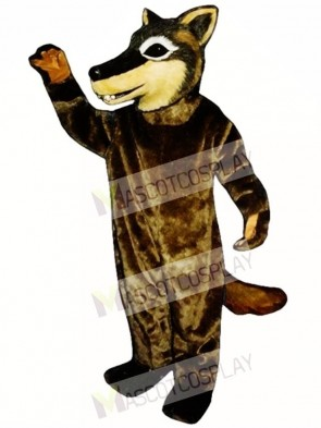 Cute Coyote Wolf Mascot Costume