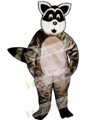 Sunny Raccoon Mascot Costume