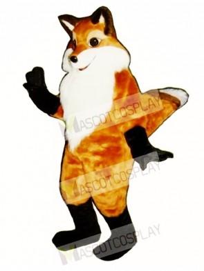 Cute Fancy Fox Mascot Costume