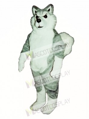 Cute Willy Wolf Mascot Costume