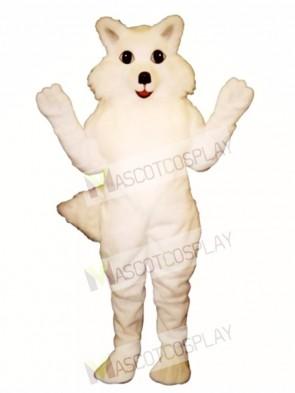 Cute Arctic Fox Mascot Costume