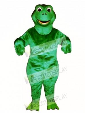 Fritz Frog Mascot Costume