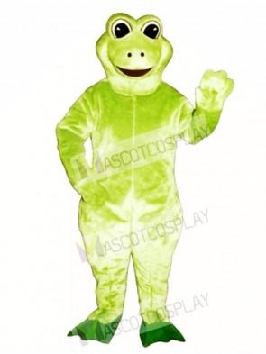 Fred Frog Mascot Costume