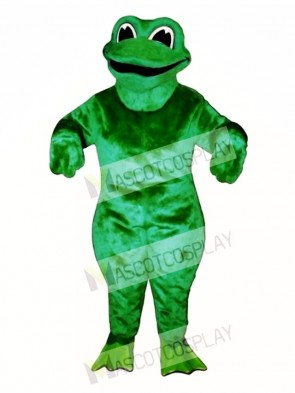 Croaking Frog Mascot Costume