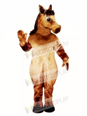 Cute Pony Horse Mascot Costume