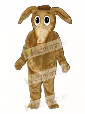 Comic Aardvark Mascot Costume