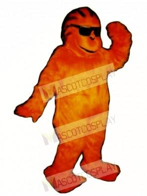 Yahoo Yeti Mascot Costume