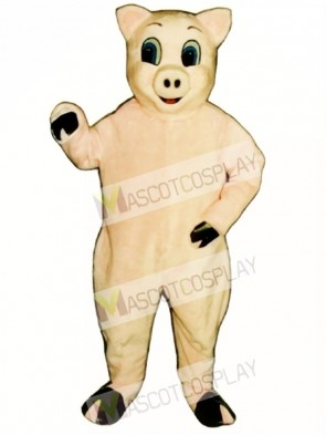 Jolly Pig Christmas Mascot Costume