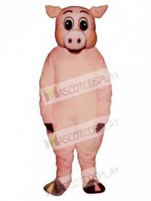 Cute Oinker Pig Hog Mascot Costume