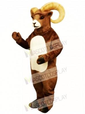 Cute Rocky Ram Mascot Costume