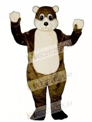 Woodchuck Mascot Costume