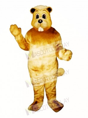 Willy Beaver Mascot Costume