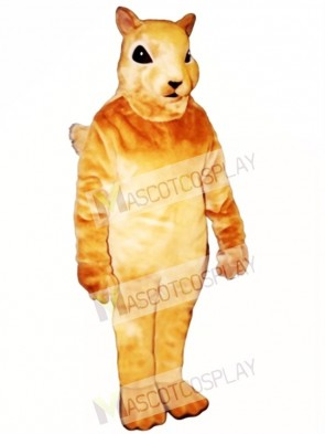 Squirrel Squirrely Mascot Costume