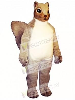 Squire Squirrel Mascot Costume