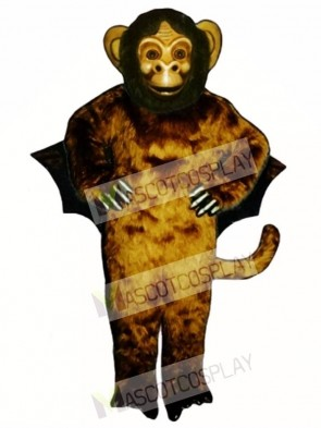 Flying Monkey Mascot Costume