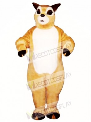 Cute Fawn Deer Mascot Costume