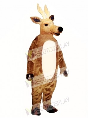 Cute Sleepy Deer Mascot Costume