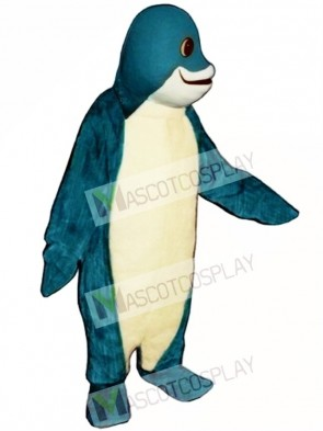 Cute Finney Fish Mascot Costume