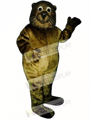 Cute Baby Sea Otter Mascot Costume