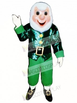 Grandpa Elf Christmas Mascot Costume