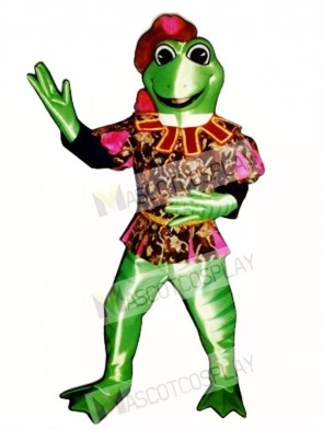 Prince Frederick Frog Mascot Costume