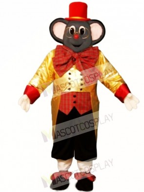 Holiday Mouse Christmas Mascot Costume
