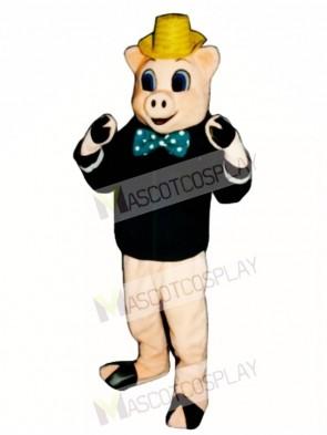 Wood Pig Mascot Costume