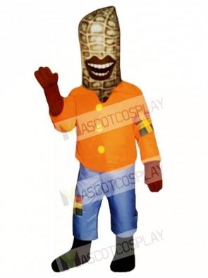 Peter Peanut Mascot Costume