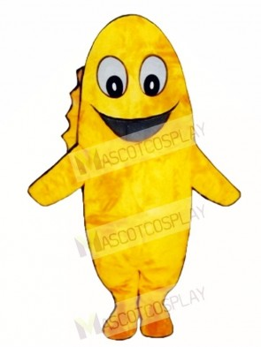 Cute Goldie Goldfish Mascot Costume