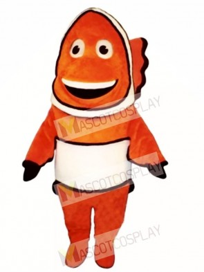 Cute Clown Fish Mascot Costume