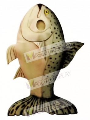 Salmon Mascot Costume