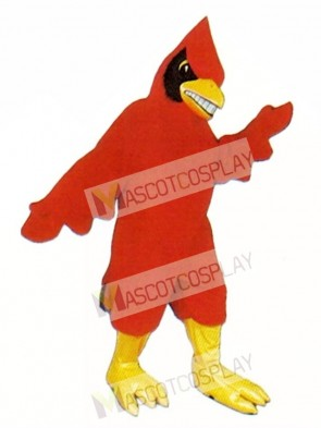 Happy Cardinal Mascot Costume