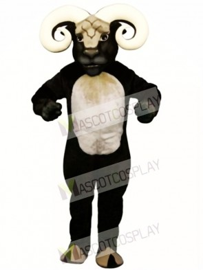 Cute Blocking Ram Mascot Costume