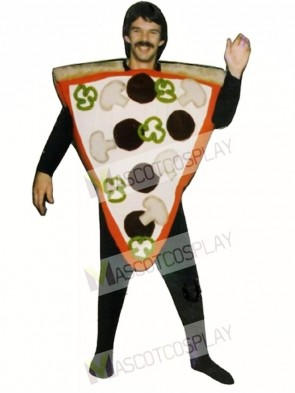 Pizza Slice Mascot Costume