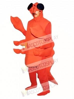 Cute Lobster Mascot Costume