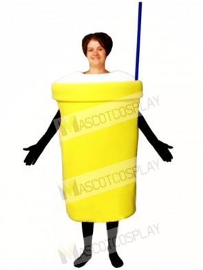 Milkshake Mascot Costume